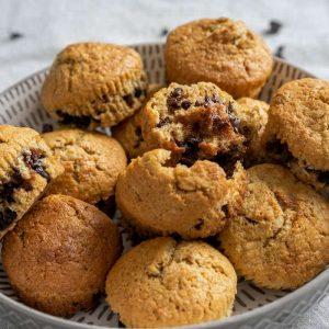 Muffins avoine-choco La Pause Magique