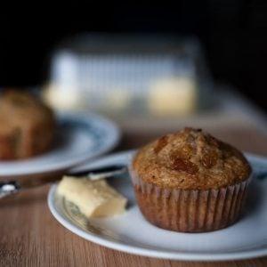 Muffins son d'avoine et raisins - La Pause Magique