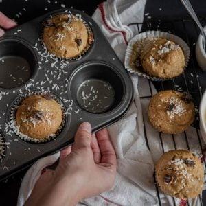Muffins abricots cocos moule - La Pause Magique