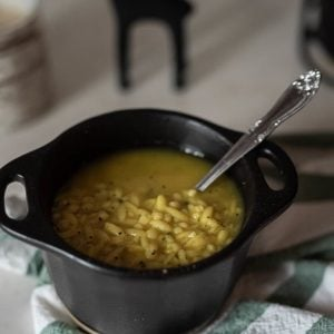 Soupe sans poulet et nouilles 2 - La Pause Magique