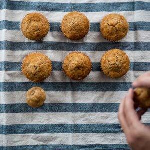 Muffins natures gros et petits - La Pause Magique