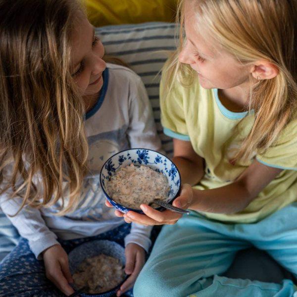 Gruau sans gluten aux bleuets - La Pause Magique