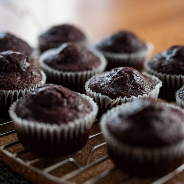 Muffins double chocolat - La Pause Magique