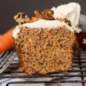 Muffin aux carottes - La Pause Magique
