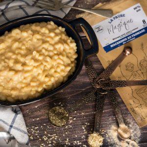 Macaronis au fromage - La Pause Magique