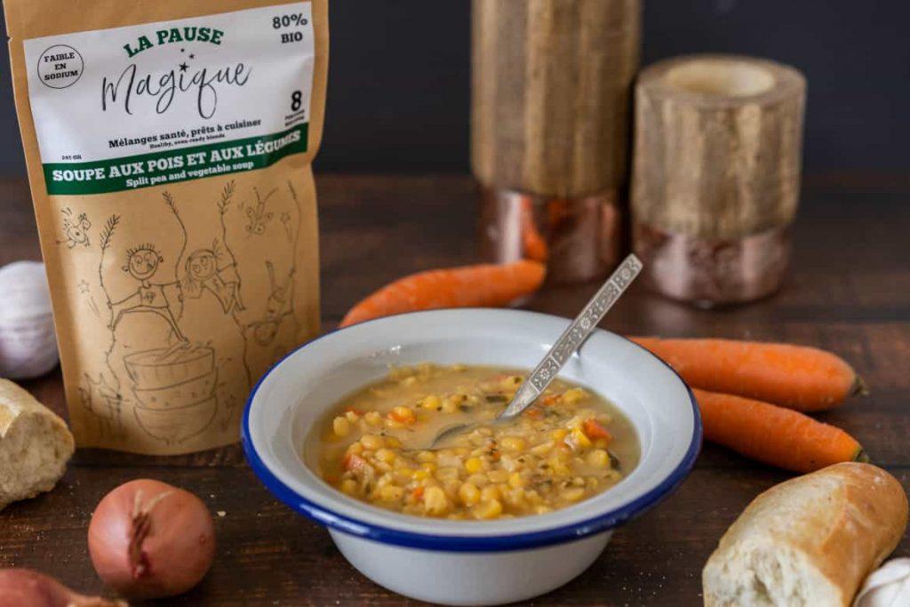Soupe aux pois - La Pause Magique